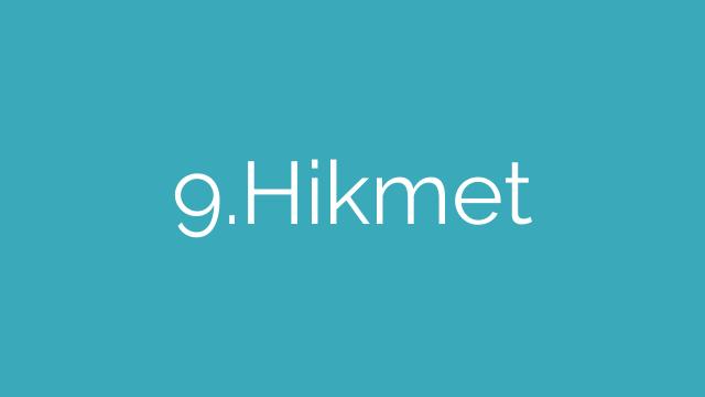 9.Hikmet