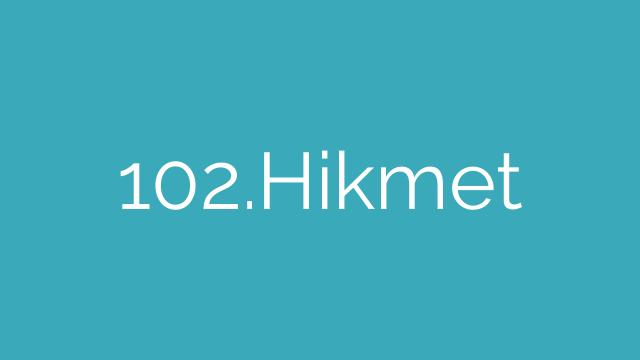 102.Hikmet