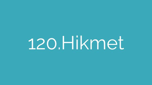 120.Hikmet