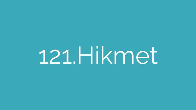 121.Hikmet
