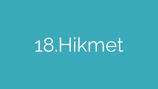 18.Hikmet