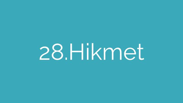 28.Hikmet